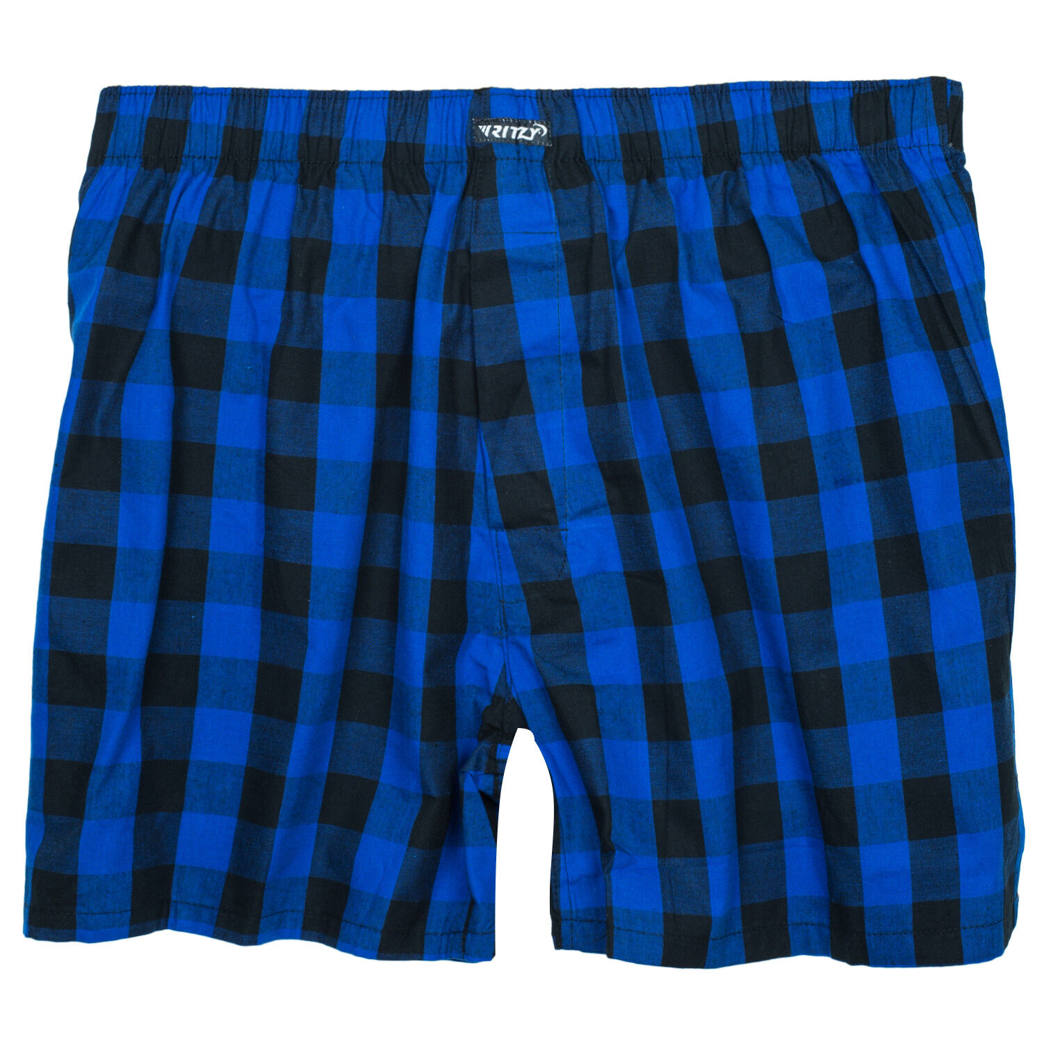 Ritzy Men's Boxer Shorts Underwear 100% Cotton Plaid Yarn Dyed Woven – 3 Pack Clothing, Shoes & Accessories