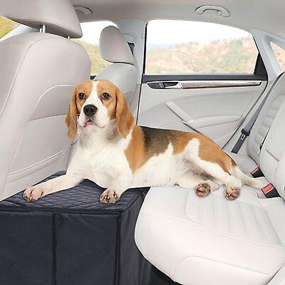 MSR IMPORTS Dog Car Seat Extender - Safer More Comfortable Back Seat Platform