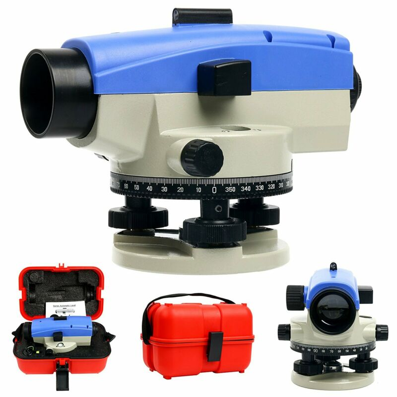 NEW 32x Optical Auto Level   Self-Leveling Tool for Builders & Contractors USA