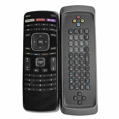 New Vizio Xrt303 Remote Control Keyboard 3D Smart Tv With Amazon M Go Netflix