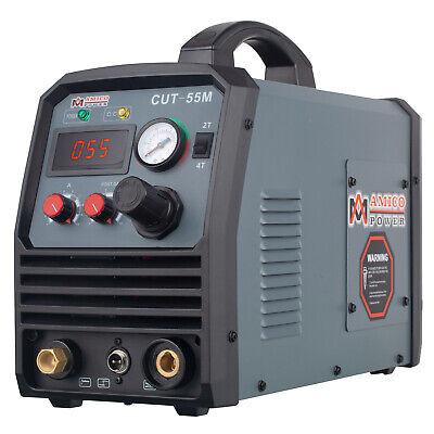Cut-55 55 Amp Air Plasma Cutter 95-260v Wide Voltage Igbt Dc Cutting Machine