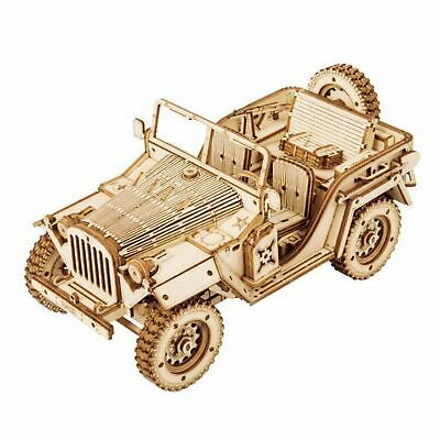 Hands Craft 3D Puzzle Scale Jeep Model Army Field Car, Stem Puzzles