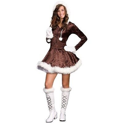 Dreamgirl - Eskimo Cutie Teen Costume (Eskimo Cutie Costume)