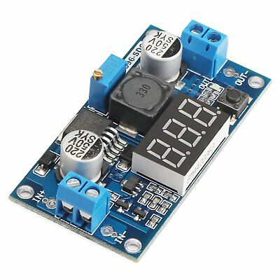 Lm2596 Led Voltmeter Buck Step-down Dc Power Converter Regulator 4-40 To 1.3-37v