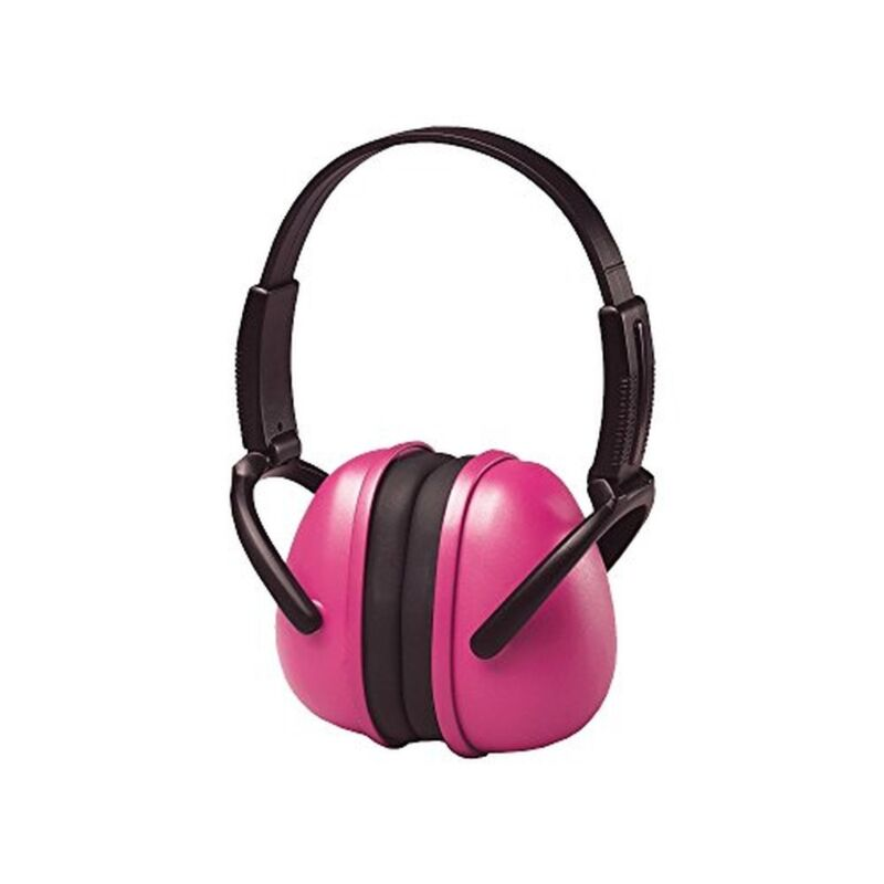 Ear Muffs Hearing Protection Folding, One Size, Pink Color