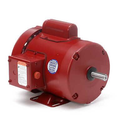 Leeson Electric Motor 113256.00 56 Frame 13 Hp 1725 Rpm 1-ph 115208-230 Volt