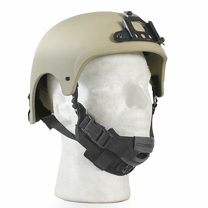 MetalTac Tactical Helmet IBH Type Airsoft Paintball Milsim Protection TAN