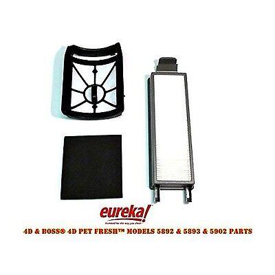 Eureka 4D Boss, Pet Fresh Bagless Upright Filter Kit. Fits 5892AVZ, 5892BVZ, ...