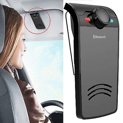 Wireless Bluetooth Speakerphone Car Kit Hands Free Sun Visor