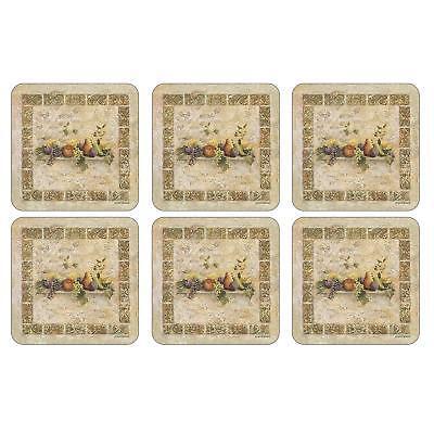 - Pimpernel Coasters, Tuscan Palette, Set of 6 (2010262816)