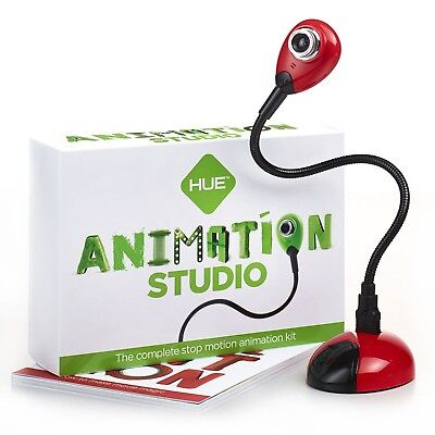 Hue Animation Studio  Red  For Windows Pcs And Apple Mac Os X  Complete Stop