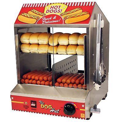 Paragon 8020 Dog Hut Hot Dog Steamer Free Shipping