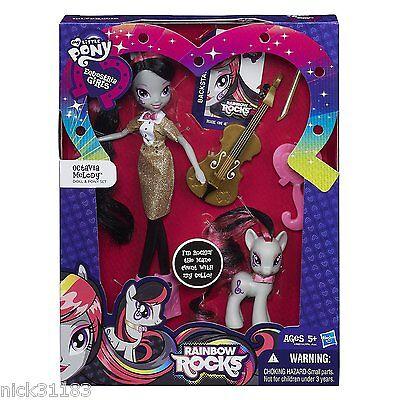My Little Pony Equestria Girls Rainbow Rocks Octavia Melody Doll In Stock