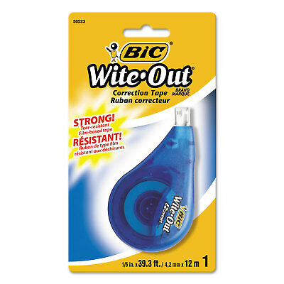 Bic Wite-out Ez Correct Correction Tape Non-refillable 16 X 472 Wotapp11