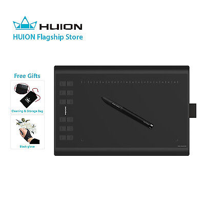 Huion New 1060 PLUS Professional Graphics Drawing Tablet for Graphic Designer