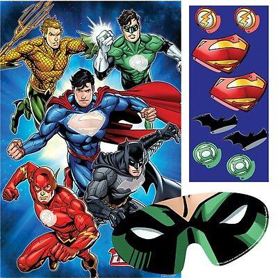 Jungen die Liga der Gerechten Geburtstagsparty Spiel Batman Flash Green Lantern