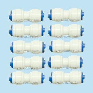 10-x-6mm-1-4-STRAIGHT-CONNECTORS-FOR-WATER-FILTERS