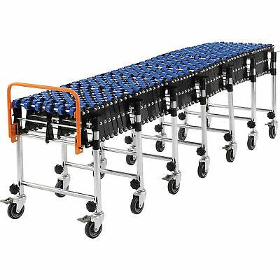 62 To 248 Portable Flexible Expandable Conveyor - Nylon Skate Wheels - 175