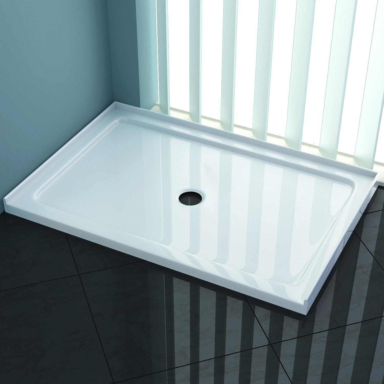 Square Durable Acrylic Fiberglass Shower Base Tile Over ...