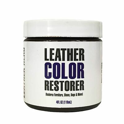 Leather Dye Repair Kit for Couches, Furniture, Shoes- Leather Hero Light Brown ()