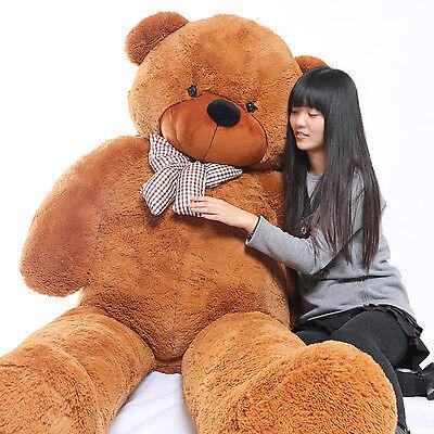 "Joyfay® 91"" 230cm Giant Teddy Bear Huge Brown Plush Toy Christmas Gift"