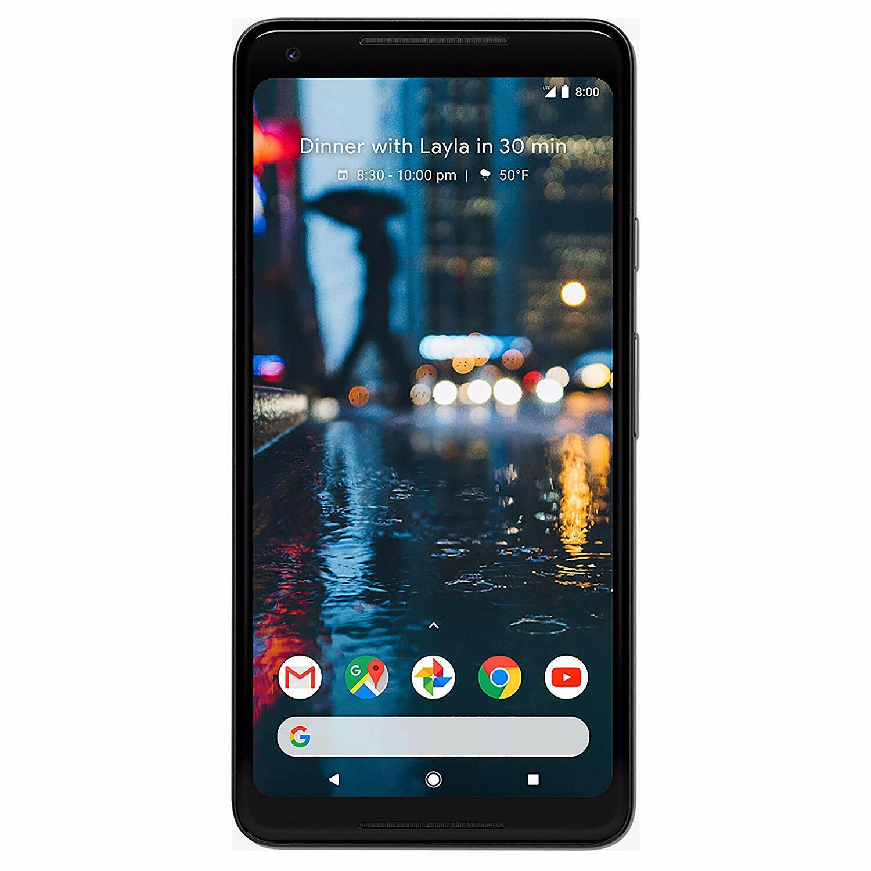 Android Phone - Google Pixel 2 XL 64GB 128GB Fully Unlocked CDMA + GSM 4G LTE Smartphone