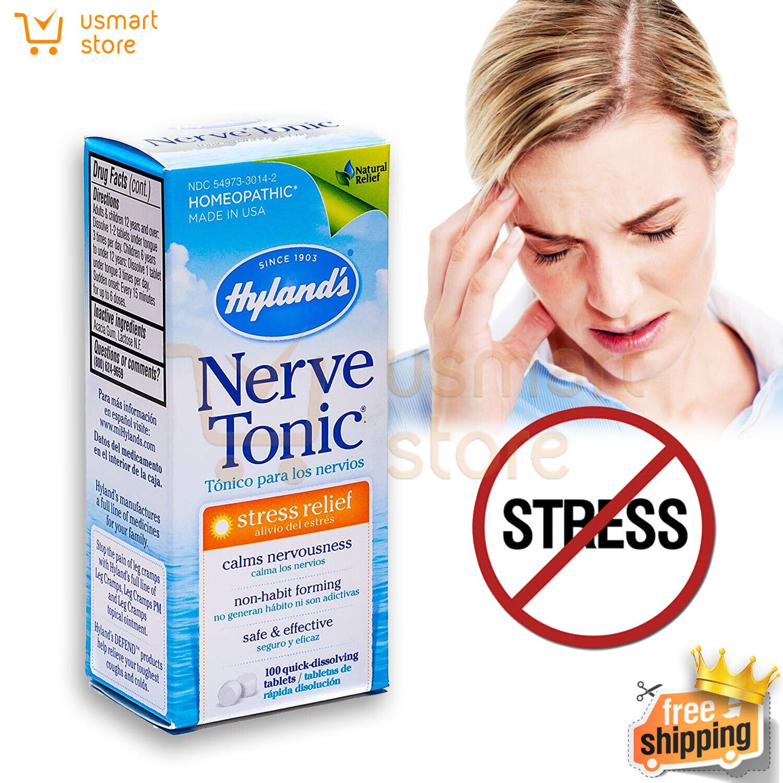 Pastillas Para Los Nervios Tratamiento Anti Estres Suplementos Aliviar Ansiedad