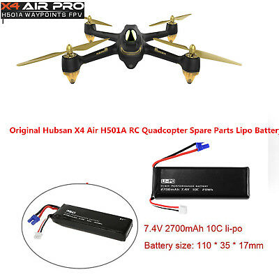 Original Hubsan X4 Air H501A RC Quadcopter 7.4V 2700mAh Lipo Battery H501S-14