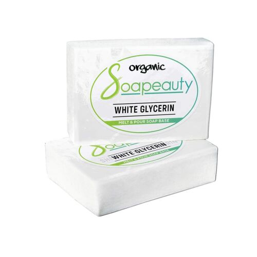 WHITE GLYCERIN MELT & POUR SOAP BASE ORGANIC 2 LBS TO 25 LBS