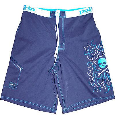 hot product best value biggest discount Détails sur PULL IN maillot de bain boardshort SKULLY bleu homme