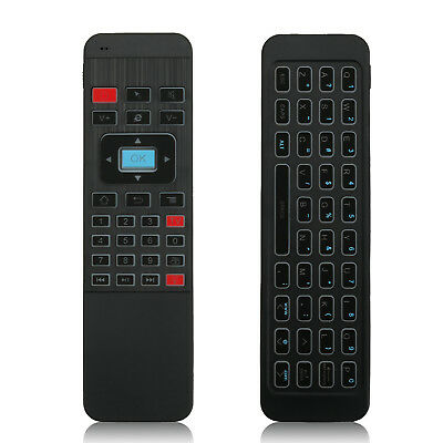 2.4G P3 Air Mouse Mini QWERTY Keyboard Remote for Android TV Box with Backlight