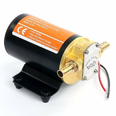 12v Scavenge Gear Pump Self-priming Electric Diesel Fuel Scavenge Oil Transfer Fuel Oil Pump