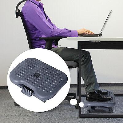 Homcom Fußstütze Fussstütze Fußablage Relax Fuß Stütze für Büro höhenverstellbar