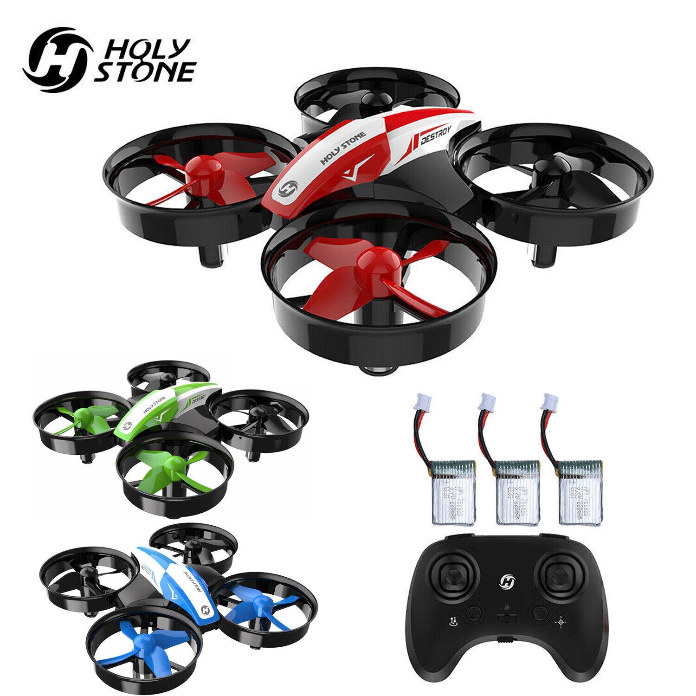 Holy Stone HS210 Mini Drohne für Kinder RC Quadrocopter mit 3 Akkus, 21 Min