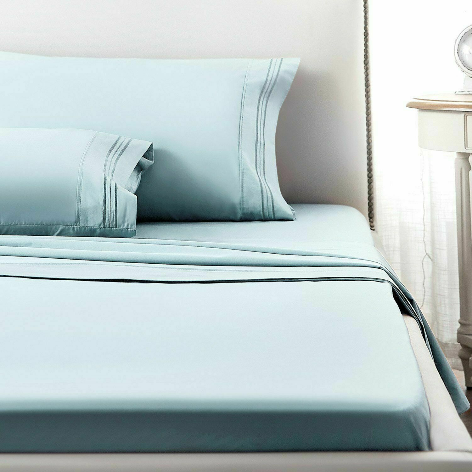 1800 Count Hotel Quality Deep Pocket 3//4 Piece Bed Sheet Set Wrinkle Free  Size