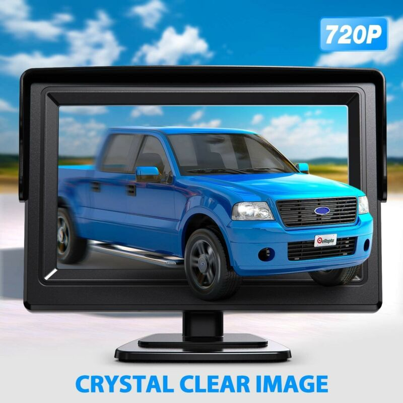 4.3 Inch Car Video Monitor Universal Backup Auto Rear View 12V HD Screen Night