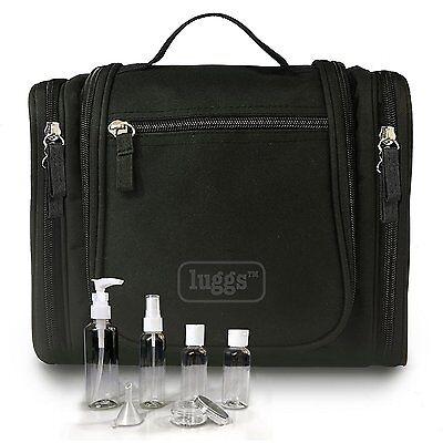 Hanging Travel Toiletry Bag, Travel Bottle Set for Shower & Cosmetics - Men & |