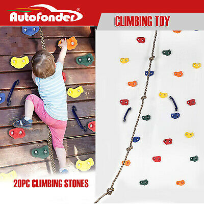 Climbing Holds Deluxe Set 32 Piece Bolt on Rock Climbing Holds