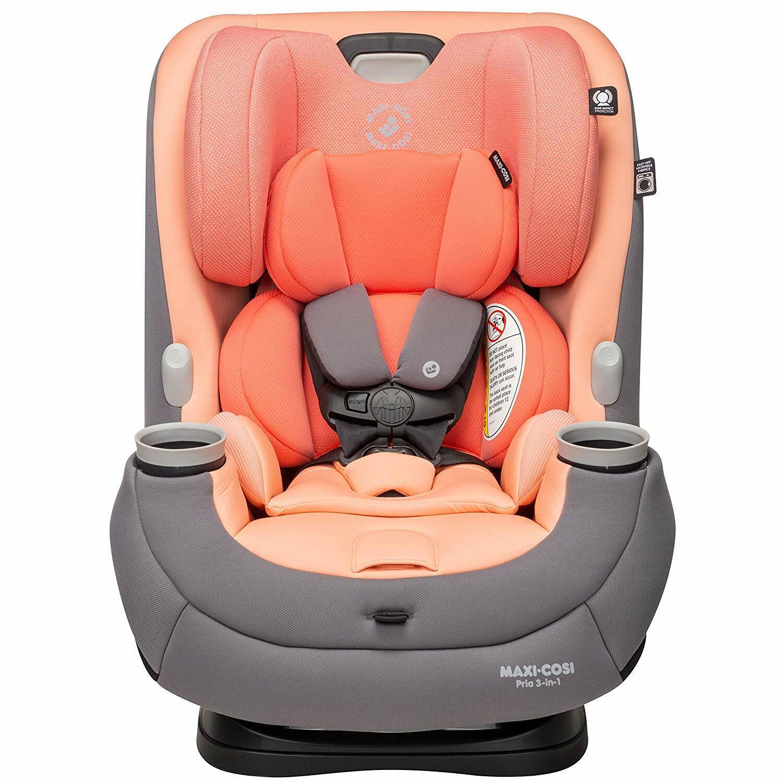 Maxi-Cosi Pria 3-in-1 Convertible Car Seat, Peach Amber, One