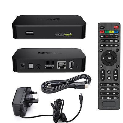 MAG 322 IPTV HEVC H.265 Streamer Linux IPTV/OTT Box Faster Processor than 254 UK