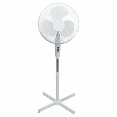 """NEW 16"""" Oscillating Extendable Free Standing Tower Pedestal Cooling Fan"""