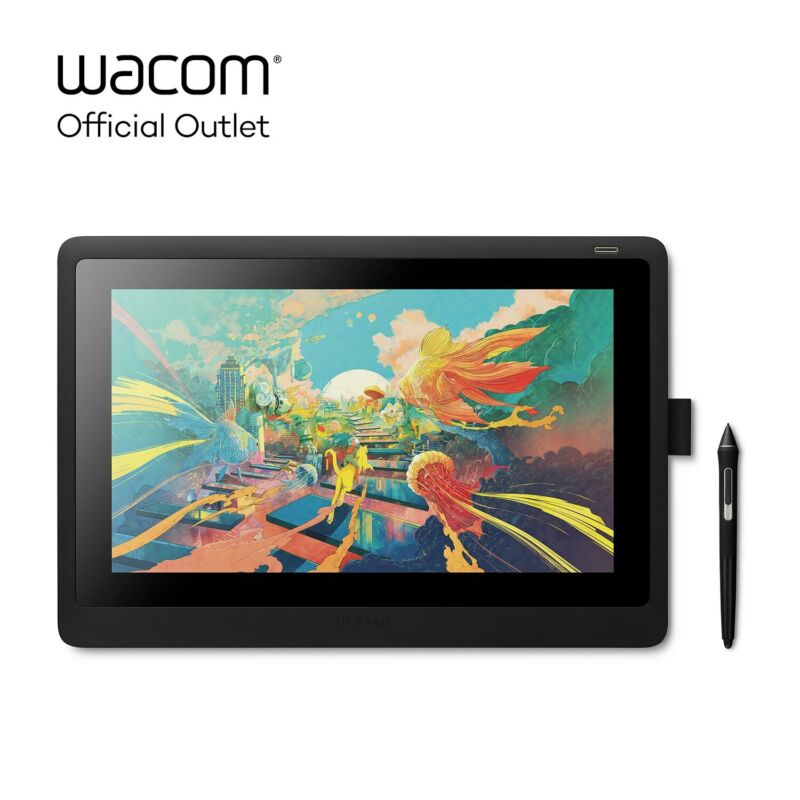 "Used Wacom Cintiq 16 15.6"" drawing tablet with HD Screen"