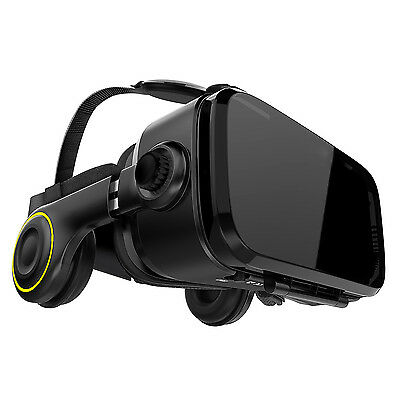 VR Brille Virtual Reality Headset / Box für Samsung S6 S7 S8 Edge HTC Smartphone
