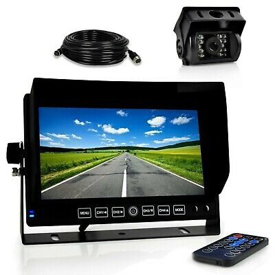 "7"" Display Car Dash Cam, Car DVR Dashboard Camera Monitor, W"