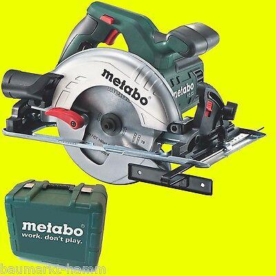 Metabo Handkreissäge KS 55 + Koffer Kreissäge Säge 1200 Watt 60085550