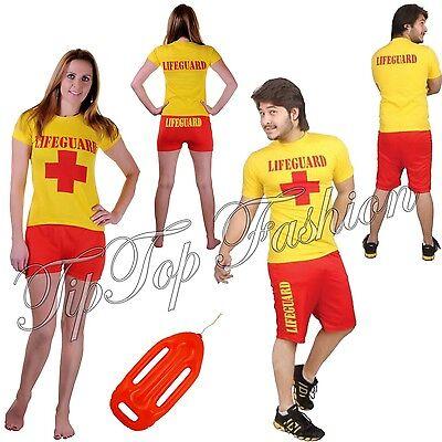 Erwachsene Herren / WOMÉ Rettungsschwimmer Strand Bucht Kostüm Leben - Männlich Schwimmen Kostüm