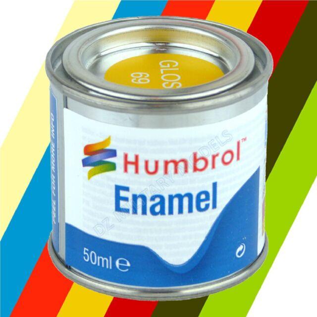 Humbrol Enamel Model Paints No 2 (50ml) Choose Colours HU002 - HU069