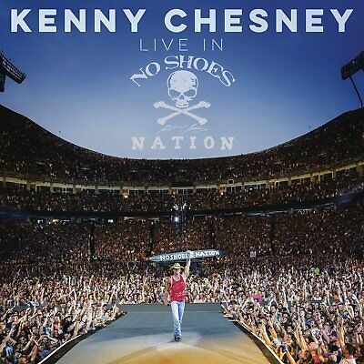 Kenny Chesney Live In No Shoes Nation Sealed Free Mailing