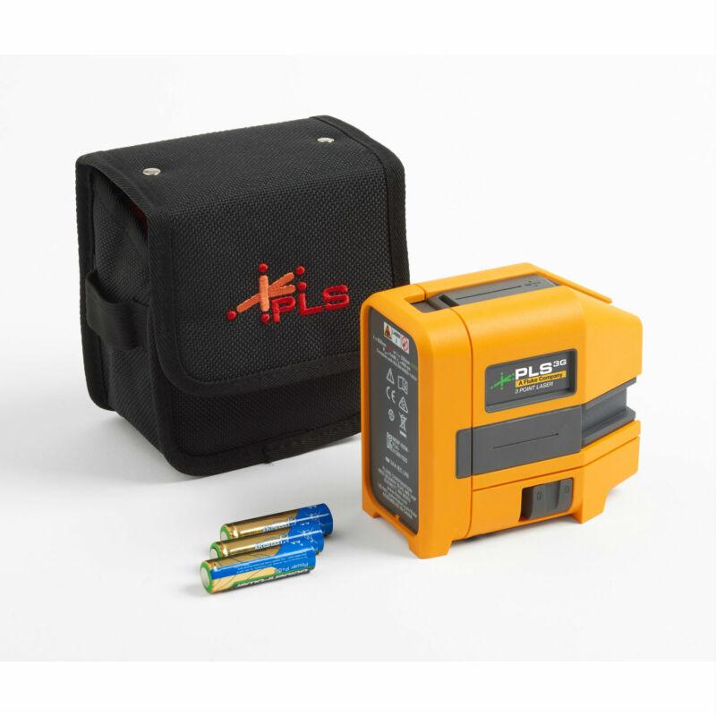 Pacific Laser PLS 3G Z, 3-Point Green Laser Bare Tool