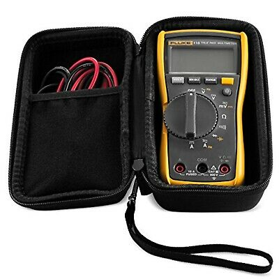 Hard Case Fit Perfectly To Fluke 117 And 115 True-rms Digital Multimeter Black